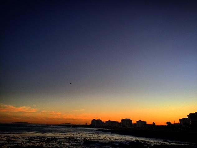 Sunrise near Beach Rd.